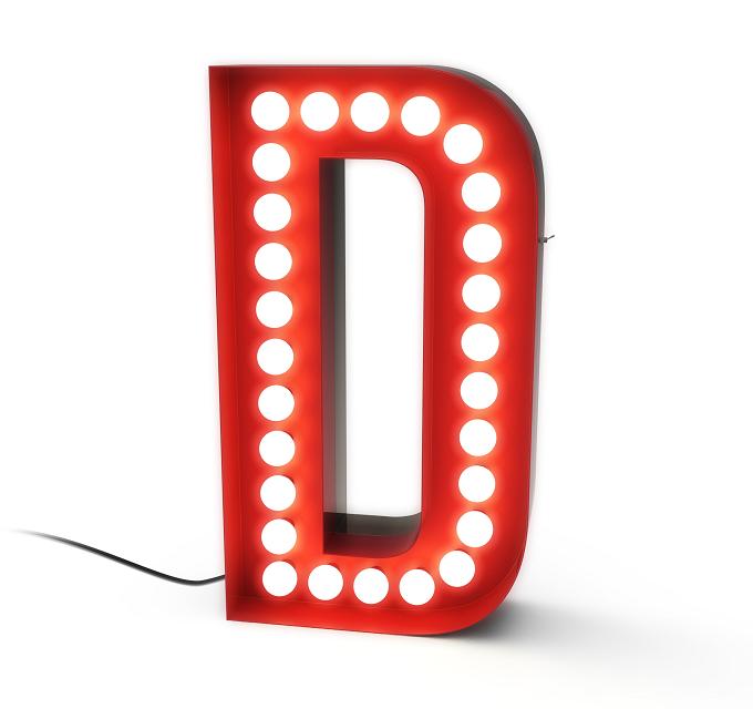 Leuchtbuchstabe von Delightfull | Deko-Trends 2014 von Elle   Deko-Trends 2014 Leuchtbuchstabe von Delightfull deko trends 2014 elle decor wohnen mit klassikern