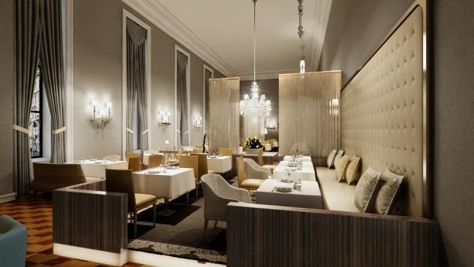 Hospitality Design und JOI Design   Hospitality Design und JOI Design Luxury Hotel Vienna Restaurant Hospitality Design und JOI Design wohnenmitklassikern