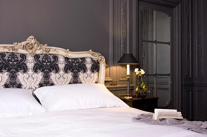 Schlafzimmer Das Schlosshotel Im Grunewald und Karl Lagerfeld