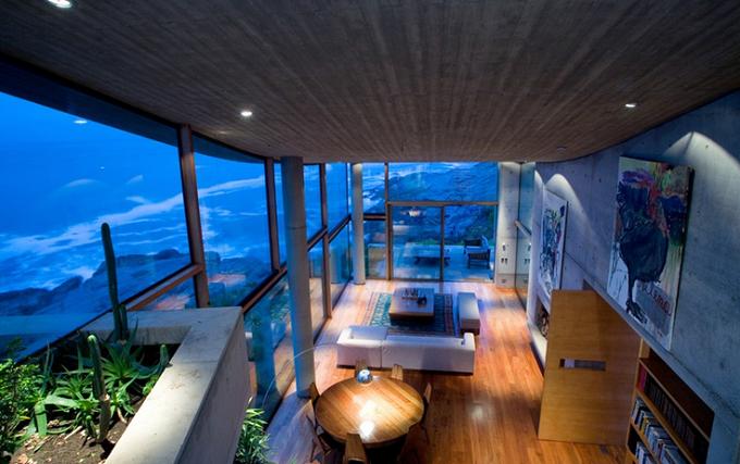 Residence in Papudo von Raimundo Anguita