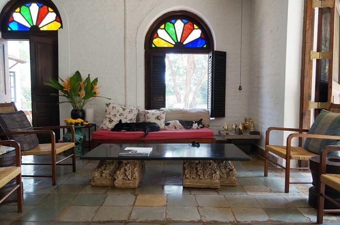 Wo Architekten wohen: Bijoy Jain von Studio Mumbai  Wo Architekten wohen: Bijoy Jain von Studio Mumbai Wo Architekten wohen Bijoy Jain von Studio Mumbai wohnenmitklassikern5