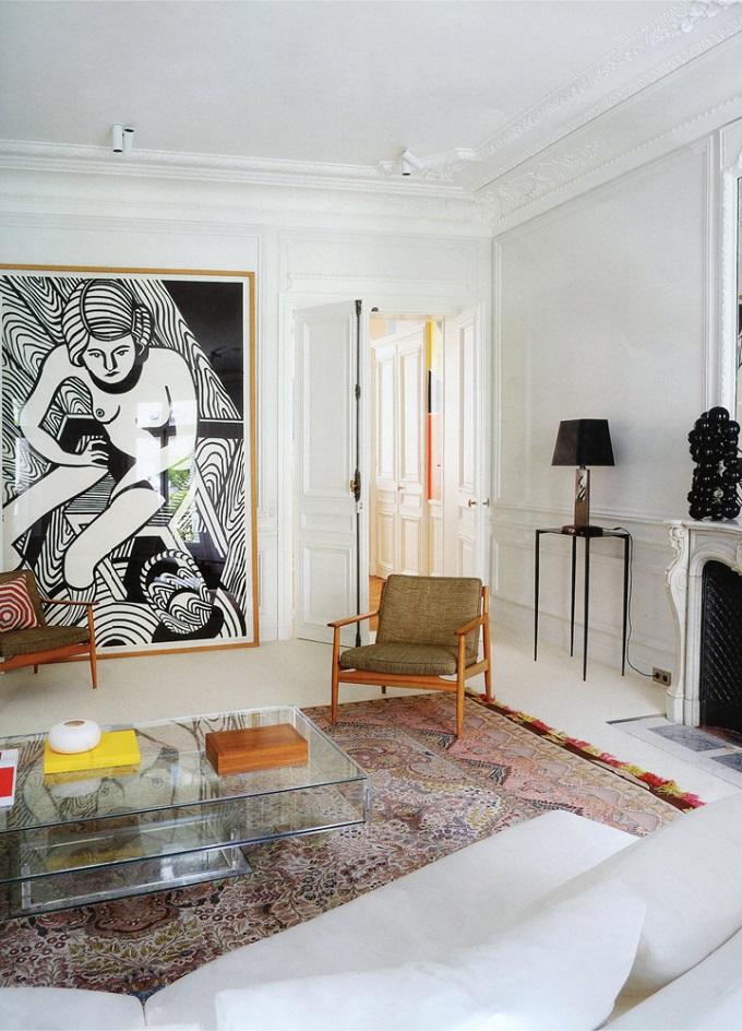 Alireza Razavi Pariser Wohnung  Alireza Razavi Pariser Wohnung Alireza Razavi Pariser Wohnung Christoph Ruckh  berle klassich wohnen1