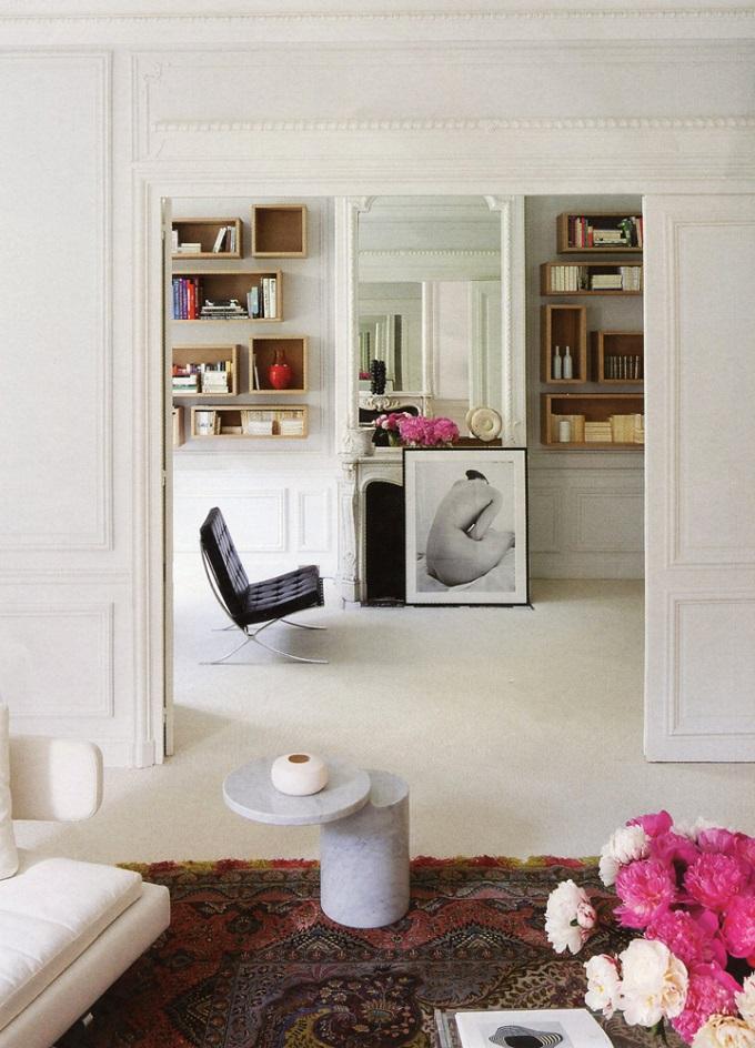 Alireza Razavi Pariser Wohnung  Alireza Razavi Pariser Wohnung Alireza Razavi Pariser Wohnung Patrick Demarchelier klassich wohnen