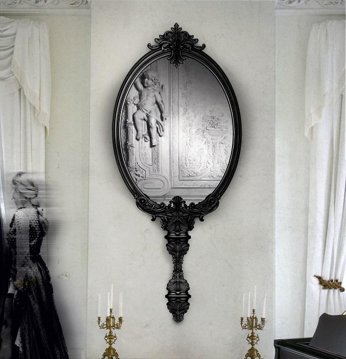 Wandspiegel - Raum-Illusion  Sommerstil: klassichen Wohnideen Sommerstil klassichen Wohnideen marie antoinette spiegel