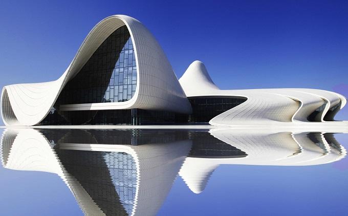 Das Heydar Aliyev Center in Baku | Zaha Hadid, die visionär   Zaha Hadid, die visionär das Heydar Aliyev Center in Baku Zaha Hadid die vision  r wohnenmitklassikern1