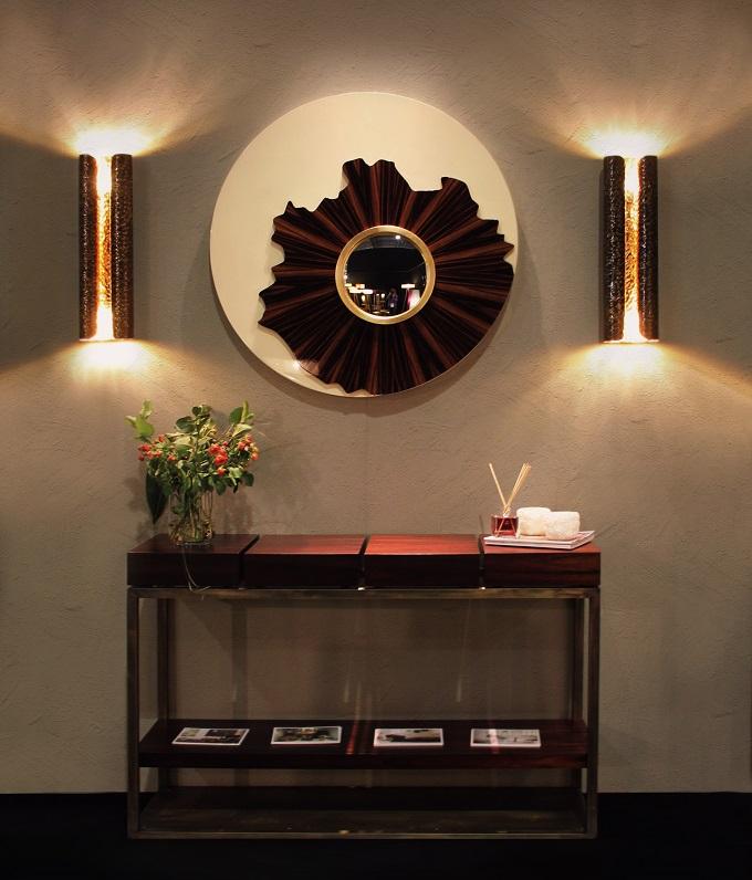 Spiegel und Sideboard: einrichten mit Holz  Einrichten mit Holz einrichten mit holz sideboard1