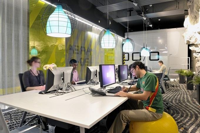 Das Google Büro in Zürich  Das Google Büro in Zürich Das Google B  ro in Z  rich projekt arbeiten