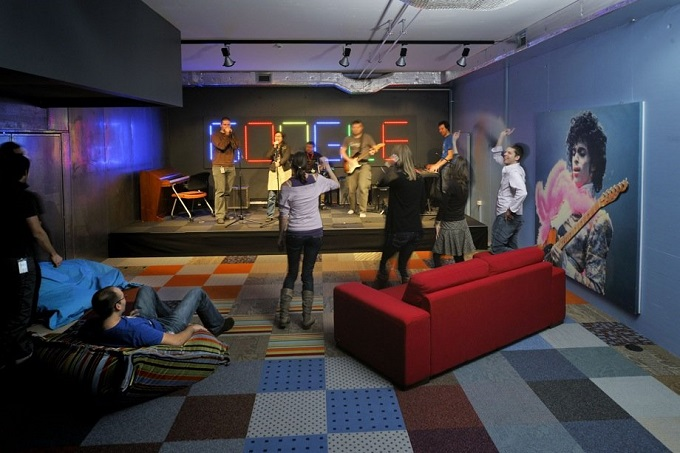 Das Google Büro in Zürich   Das Google Büro in Zürich Das Google B  ro in Z  rich projekt rock