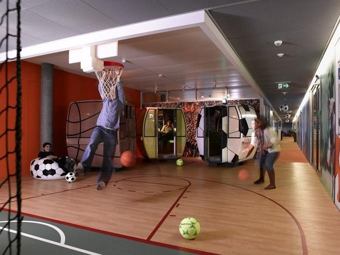Das Google Büro in Zürich   Das Google Büro in Zürich Das Google B  ro in Z  rich projekt sports