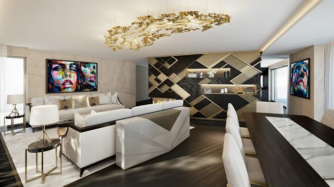Die Zürich Wohnung | Einzige Innerarchitektur mit Jeannet