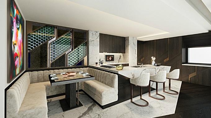 Die Zürich Wohnung | Einzige Innerarchitektur mit Jeannet   Einzige Innerarchitektur mit Jeannet Einzige Innerarchitektur mit Jeannet Zurich Wohnung1