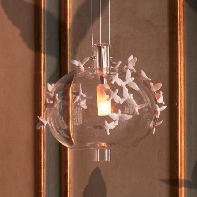 """Leuchte """"Freeze Frame"""" von Lladrò  Wohnideen: Natur als Inspiration Leuchte Freeze Frame von Lladr   wohnideen natur als inspiration"""