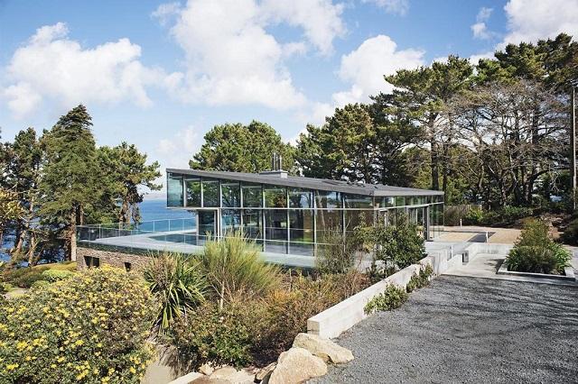 Modernes Landhaus von Architektin Tania Urvois