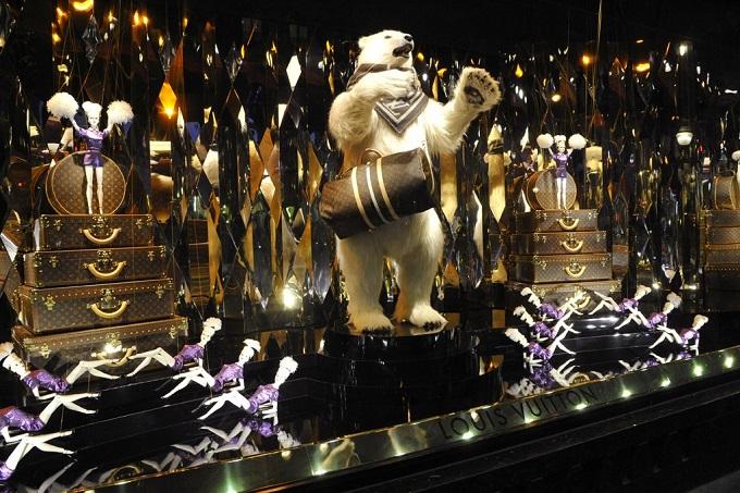 Galeries Lafayette, Paris  Die schönsten Schaufenster zu Weihnachten Die sch  nsten Schaufenster zu Weihnachten Galeries Lafayette Louis Vuitton