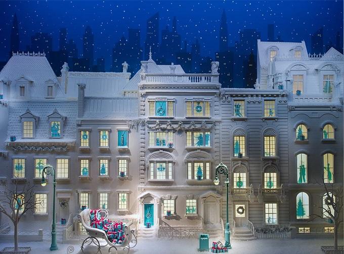 Tiffany & Co, New York   Die schönsten Schaufenster zu Weihnachten Die sch  nsten Schaufenster zu Weihnachten TiffanyCo