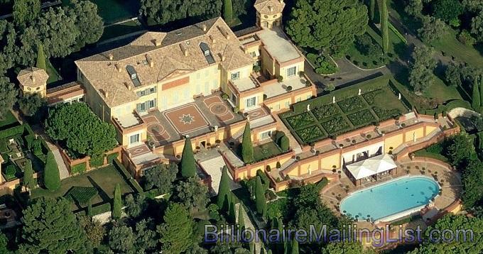 Villa Leopolda, Côte d'Azur, Frankreich   Die teuersten Häuser der Welt Villa Leopolda cote dazur