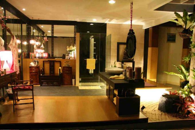 Wohnideen Badezimmer Orientalische Deko  Wohnideen für luxuriöse Badezimmer Wohnideen Badezimmer Orientalische Deko1