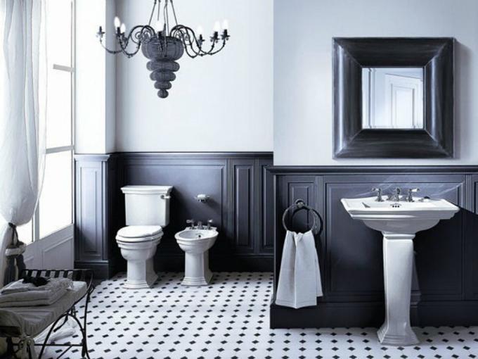 Wohnideen Badezimmer retro stil  Wohnideen für luxuriöse Badezimmer Wohnideen Badezimmer retro stil 2a