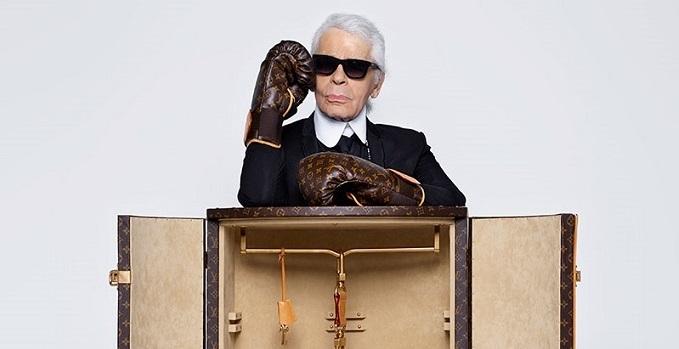 Karl Lagerfelds neu Design für Louis Vuitton