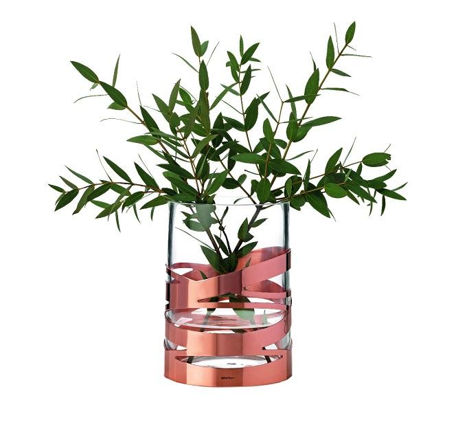 """Die """"Tangle Vase"""" von Stelton  Kupfer ist das neue Schwarz: Farbtrend für 2015 Kupfer ist das neu schwarz Tangle Stelton"""