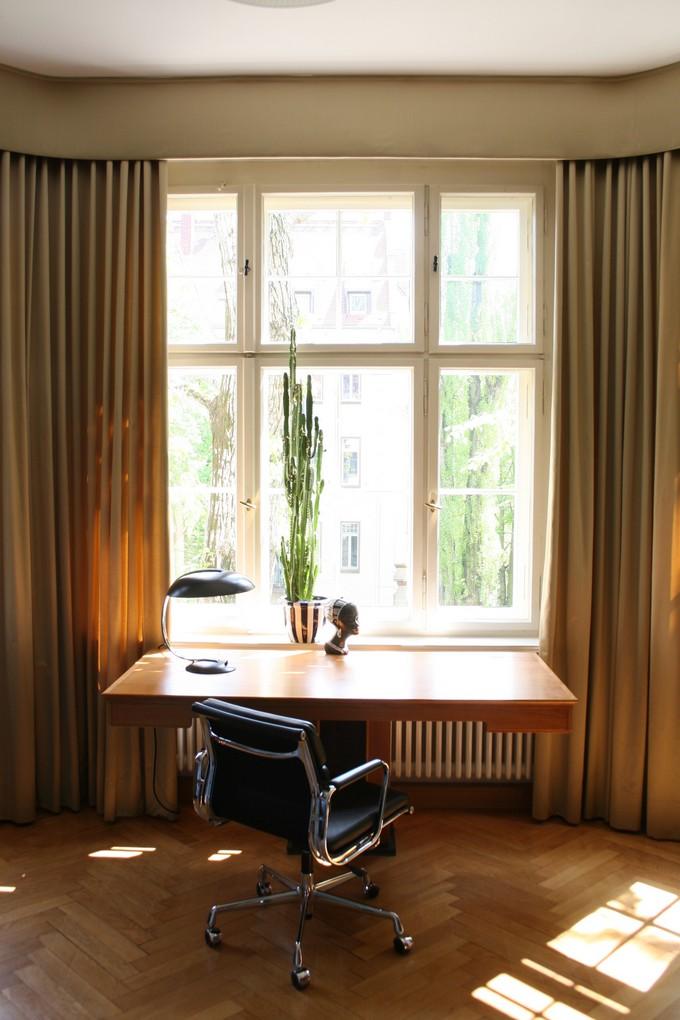 Schritt für Schritt mit Kerstin Altmann  Schritt für Schritt mit Kerstin Altmann Altbauwohnung in Leipzig Gohlis Arbeitszimmer Kerstin Altmann