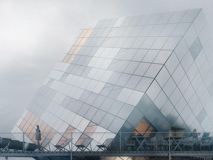 Der Eiswürfel vom Architekturbüro Atelier 8000  Der Eiswürfel vom Architekturbüro Atelier 8000 Der Eisw  rfel vom Architekturb  ro Atelier 8000 4