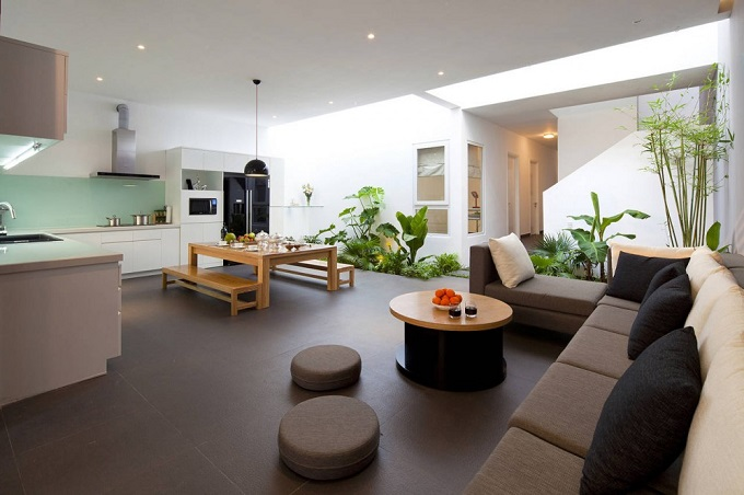 Konzept: große offene Räume  Tendenzen 2015 Innenraumgestaltung Tendenzen 2015 Innenraumgestaltung natur konzept
