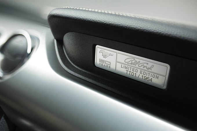 Absolut Stil: Ford Mustang 50 Years Limited Editon   Absolut Stil: Ford Mustang 50 Years Limited Editon 2015 ford mustang 50 year limited edition dash plaque