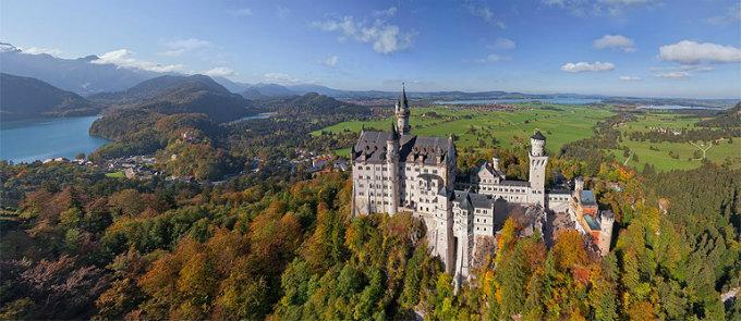 Neuschwanstein - Märchenschloss  Neuschwanstein - Märchenschloss Wihnen mit klassikern Neuschwanstein Schloss Natur