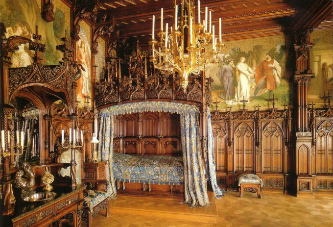 Neuschwanstein - Märchenschloss  Neuschwanstein - Märchenschloss Wohnen mit klassikern Neuschwanstein Schloss zimmer