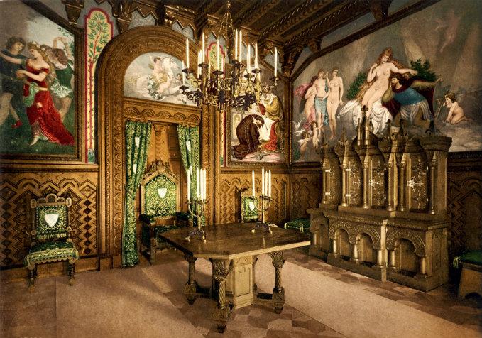 Neuschwanstein - Märchenschloss  Neuschwanstein - Märchenschloss wohnen mit klassikern Hotelzimmer luxus ideen