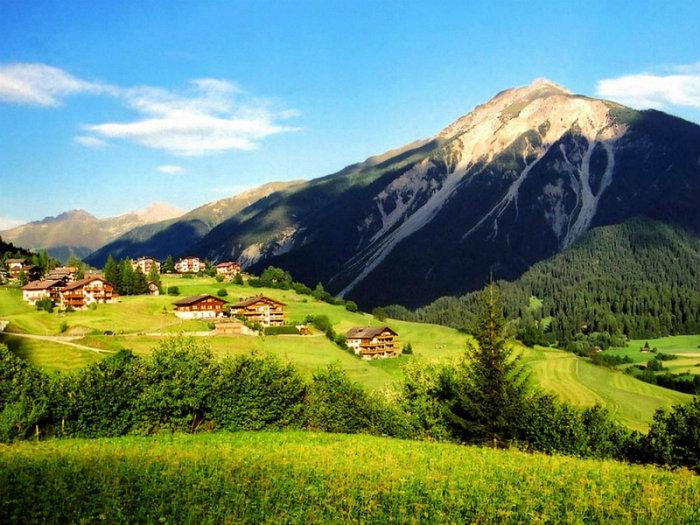 Die Reise in die Alpen  Die Reise in die Alpen Alpen wohnen mit klassikern reisen Sommer