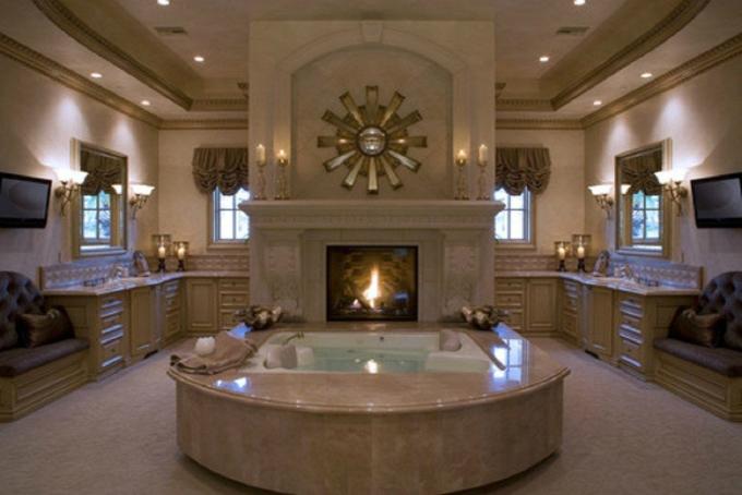 Modern-haus-wohnen-mit-klassikern-luxuriöse-badezimmer  Badezimmer in fünf Schritten zum SPA umgestalten Modern haus wohnen mit klassikern luxuri  se badezimmer1