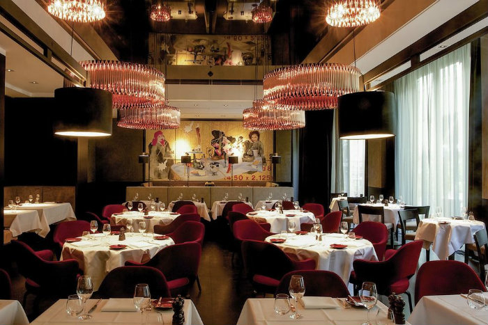 Sofitel Munich Bayerpost Hotel  Sofitel Munich Bayerpost Hotel Restaurant Le Faubourg 54