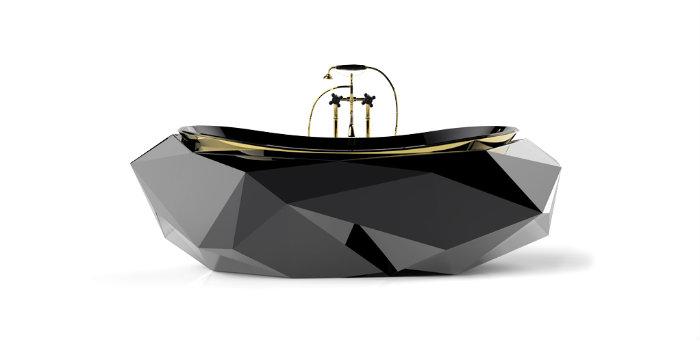 Badezimmer in funf Schritten zum SPA umgestalten  Badezimmer in fünf Schritten zum SPA umgestalten diamond bathtub wohnen mit klassikern luxuri  se badezimmer