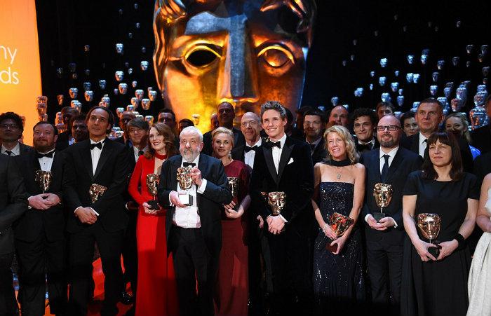 Bafta 2015  Die BAFTAs 2015 wohnen mit klassikern bafta 2015 masks