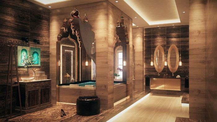 Badezimmer in funf Schritten zum SPA umgestalten  Badezimmer in fünf Schritten zum SPA umgestalten wohnen mit klassikern luxuri  se badezimmer marble design