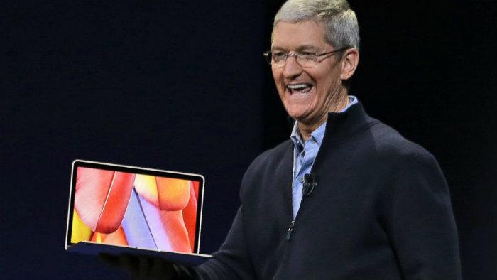 Apple stellt völlig neues MacBook vor  Apple stellt völlig neues MacBook vor Wohnen mit klassikern Apple stellt v  llig neues MacBook vor tim cook