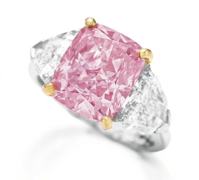 Wohnen-mit-klassikern-Die-teuersten-Juwelen-der-Welt-Vivid-Pink-diamond  Die teuersten Juwelen der Welt Wohnen mit klassikern Die teuersten Juwelen der Welt Vivid Pink diamond