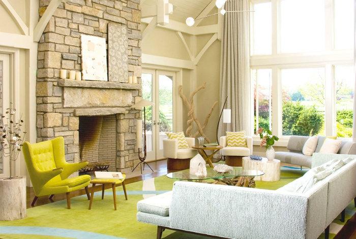 Verschonen Ihre Wohnung mit Farben  Verschönern Sie Ihre Wohnung mit Farben modern home decor living rooms green amy xln