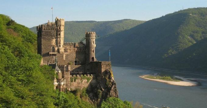 Blick auf den berühmte Schlossen!