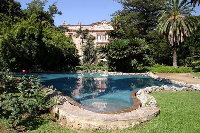 wohnen-mit-klassikern-10-Sommerhäuser-für-den-Urlaub-PALERMO-Villa-Tasca  10 Sommerhäuser für den Urlaub wohnen mit klassikern 10 Sommerh  user f  r den Urlaub PALERMO Villa Tasca