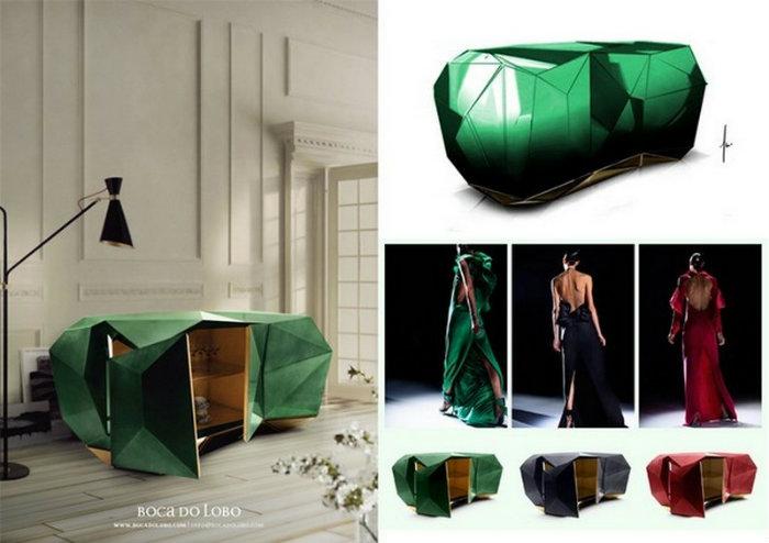 modernes design inspirationen vom laufsteg zur inneneinrichtung wohnen mit klassikern. Black Bedroom Furniture Sets. Home Design Ideas