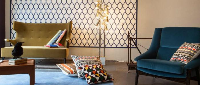 Sie finden bei Blue Living Berlin viele internationale Hersteller wie Moooi, Kvadrat, Kinnasand, Lelievre, Sartori Rugs, BRABBU, Boca do Lobo, Delightfull Leuchten, Wall and Deco, Osborne and Little und Designers Guild.