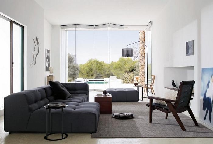 trendfarbe wohnzimmer: -Wohnzimmer-15 TOP-50-Moderne-Sessel-für-schönes-Wohnzimmer-15