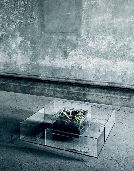 12 Luxus Glascouchtische für Luxuswohnzimmer  12 Luxus Glascouchtischdesigns für Luxuswohnzimmer 20