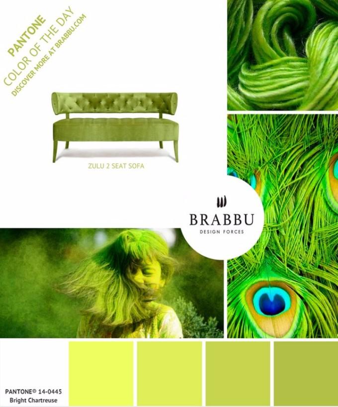 Unglaubliche Exklusive Möbel Design mit Pantone Farben exklusive möbel design Unglaubliche Exklusive Möbel Design mit Pantone Farben Bright Chartreuse