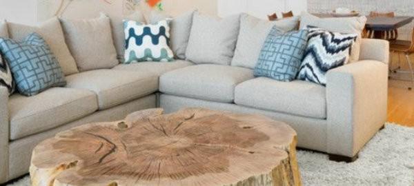 Couchtische aus Holz für einen weltoffenen Raum