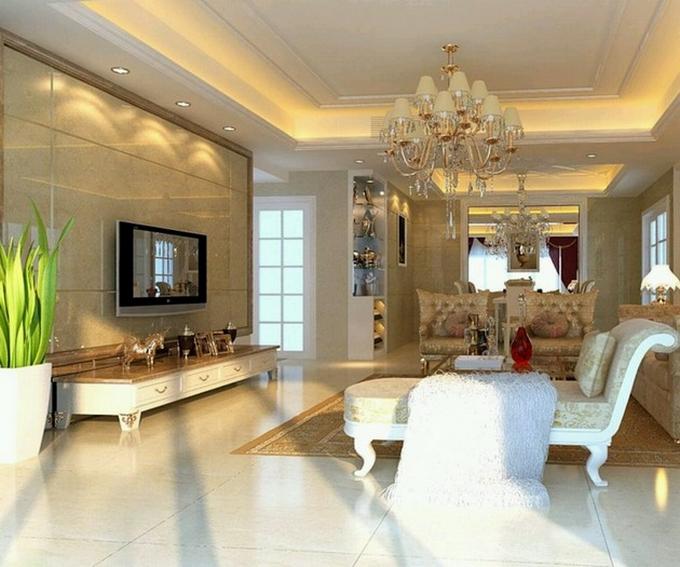 Klassische Moderne Architektur: Wohnzimmer Design Ideen