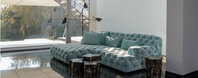 klassische moderne architektur wohnzimmer design ideen wohnen mit klassikern. Black Bedroom Furniture Sets. Home Design Ideas